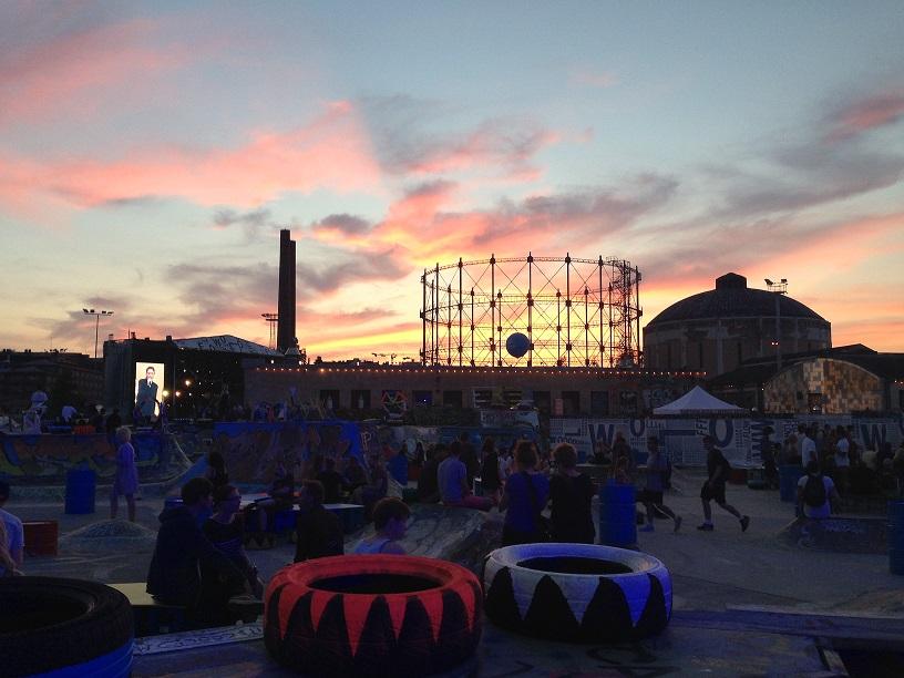 Vaade festivalialale. Foto: Triin Niinemets