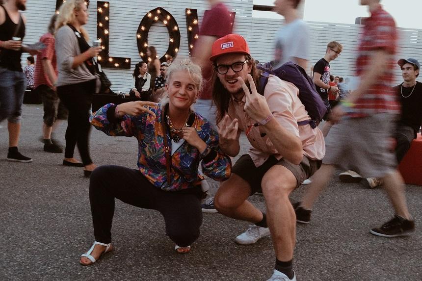 Triin ja Madis sündmuskohas. Foto: Peep Ploom