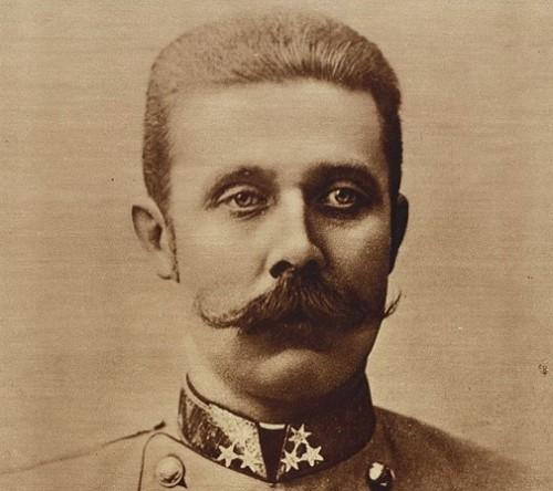 Franz Ferdinand. Foto: Carl Pietzner (Wikipedia)