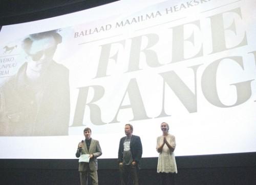 Kaader filmi esilinastuselt läinud aasta septembris. Foto: Renee Altrov