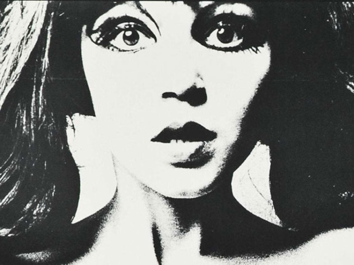 "Andy Warholi filmi ""Chelsea Girls"" poster"