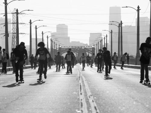 Globaalne rulatamise päev LA-s. Foto: press