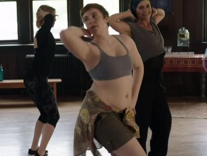Lena Dunham oma keha näidata ei pelga. Kaader sarjast
