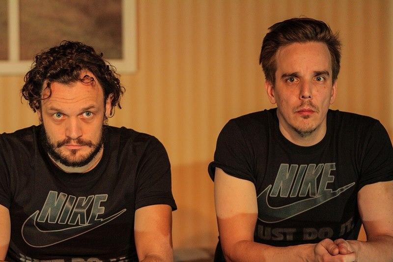 Anti Kobin ja Taavi Tõnisson. Foto lavastuse Facebooki lehelt.