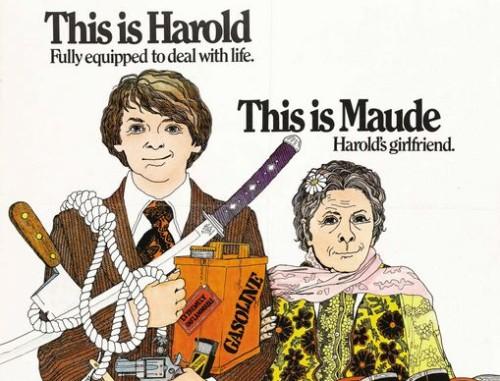 """Filmi """"Harold ja Maude"""" plakat"""