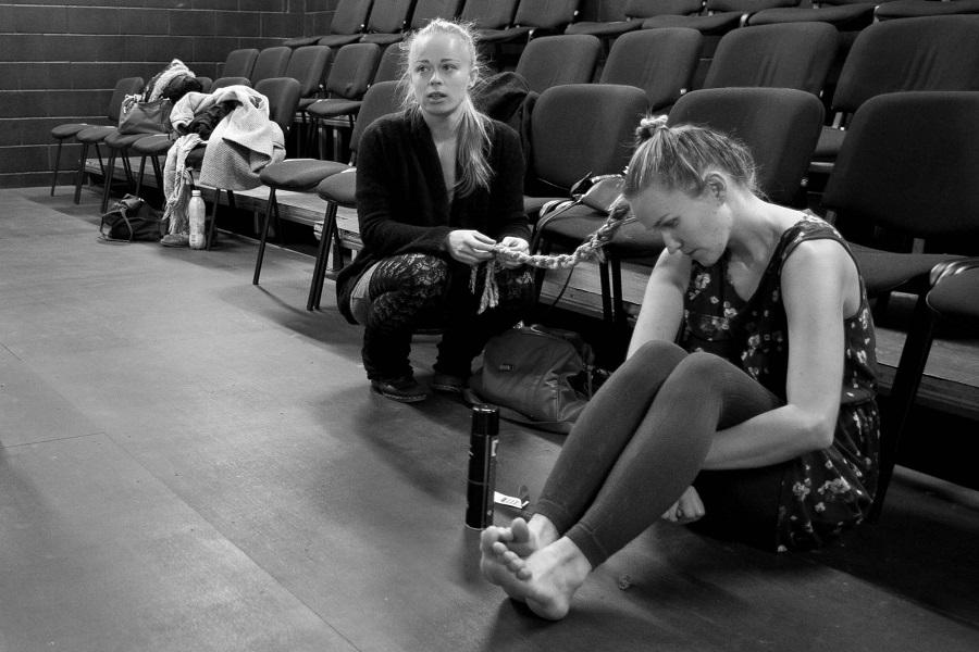 Helen Rekkor ja Liisa Taul. Foto: Kaisa Keizars