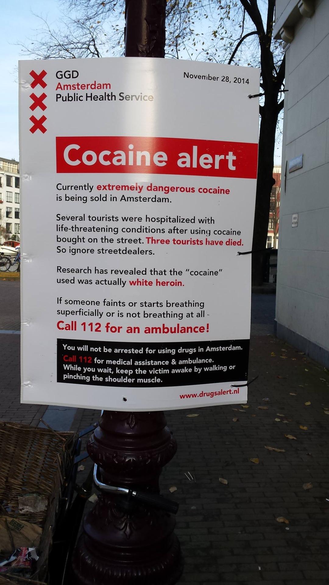 Hollandis tegeletakse uimastituru probleemidega valehäbita avalikult. Foto: internet