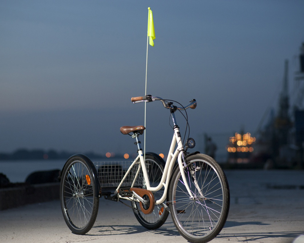 """""""Hopp"""" tricycle bicycle. Photo from hopp.lv."""