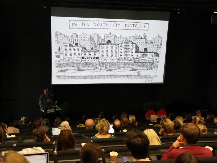 """""""Inimlikud linnad"""" konverents Kunstiakadeemias. Foto: Tiina Azojan"""