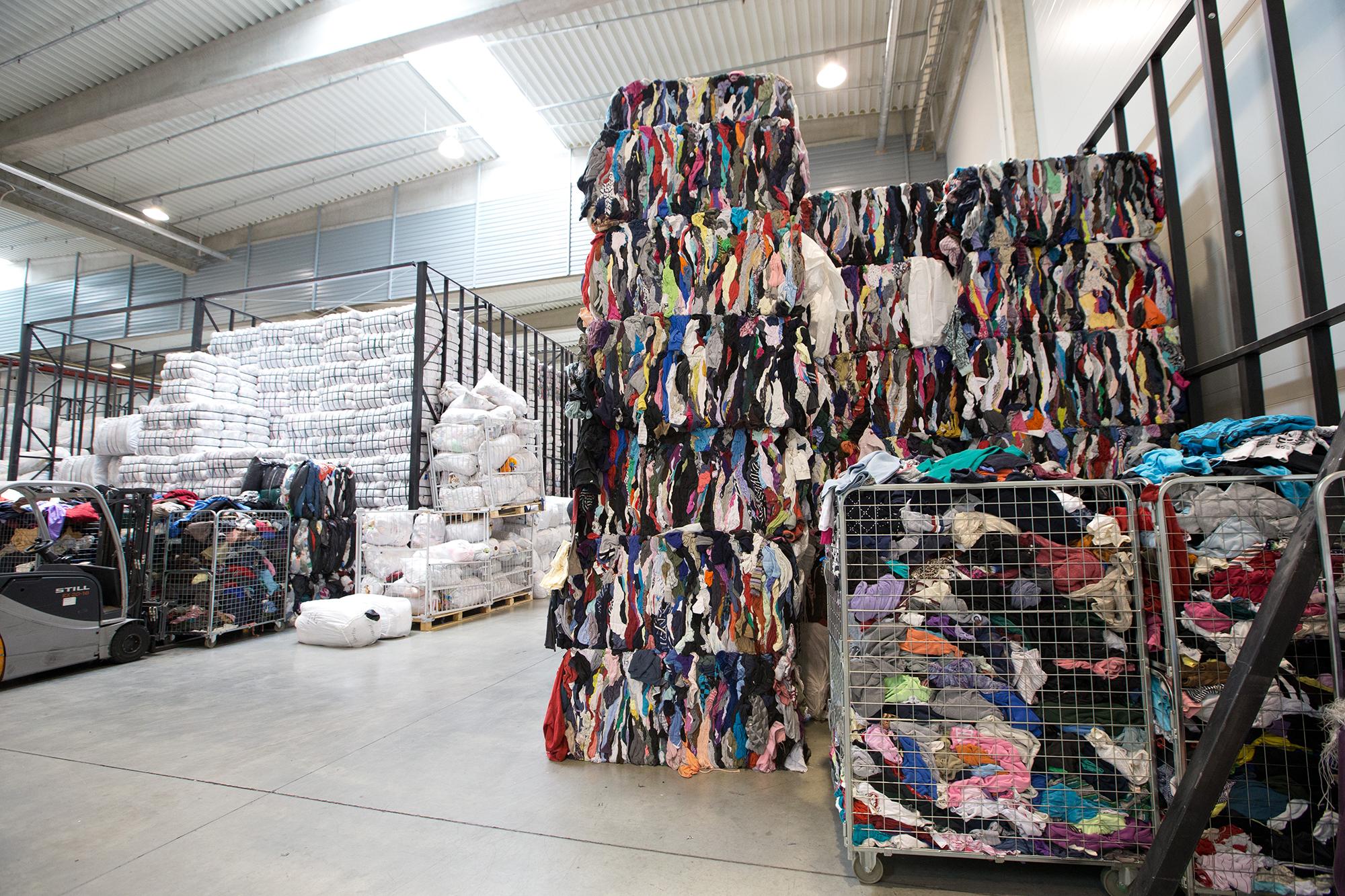Humana sorteerimiskeskus Jälgimäel. Foto: Liis Treimann / Postimees