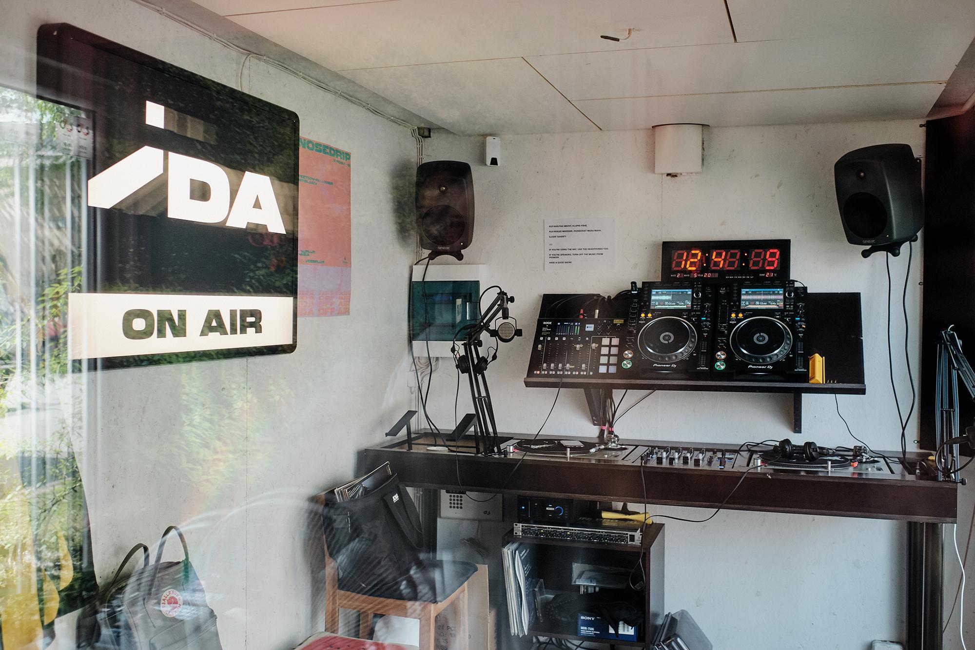 IDA Raadio stuudio