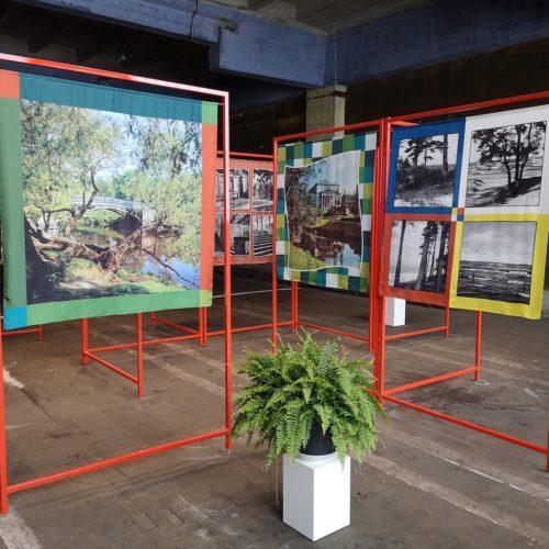 """Riia postkaardid"", RIBOCA2, 2020. Foto: Aleksander Tsapov"