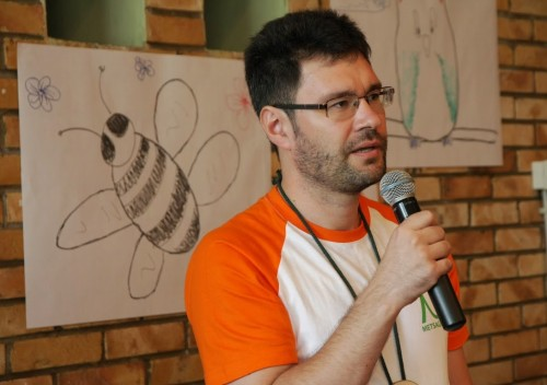 Igor Kotjuh 2014. aasta Metsaülikoolis. Foto: Kaspar Roost