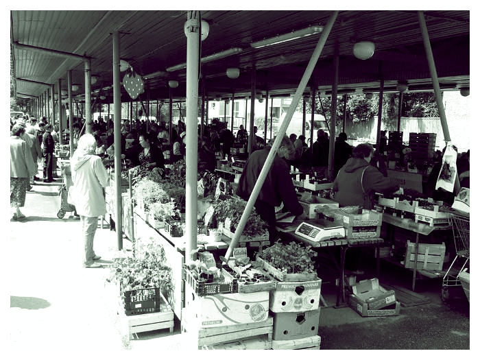 Pärnu turg. Foto: De Facto
