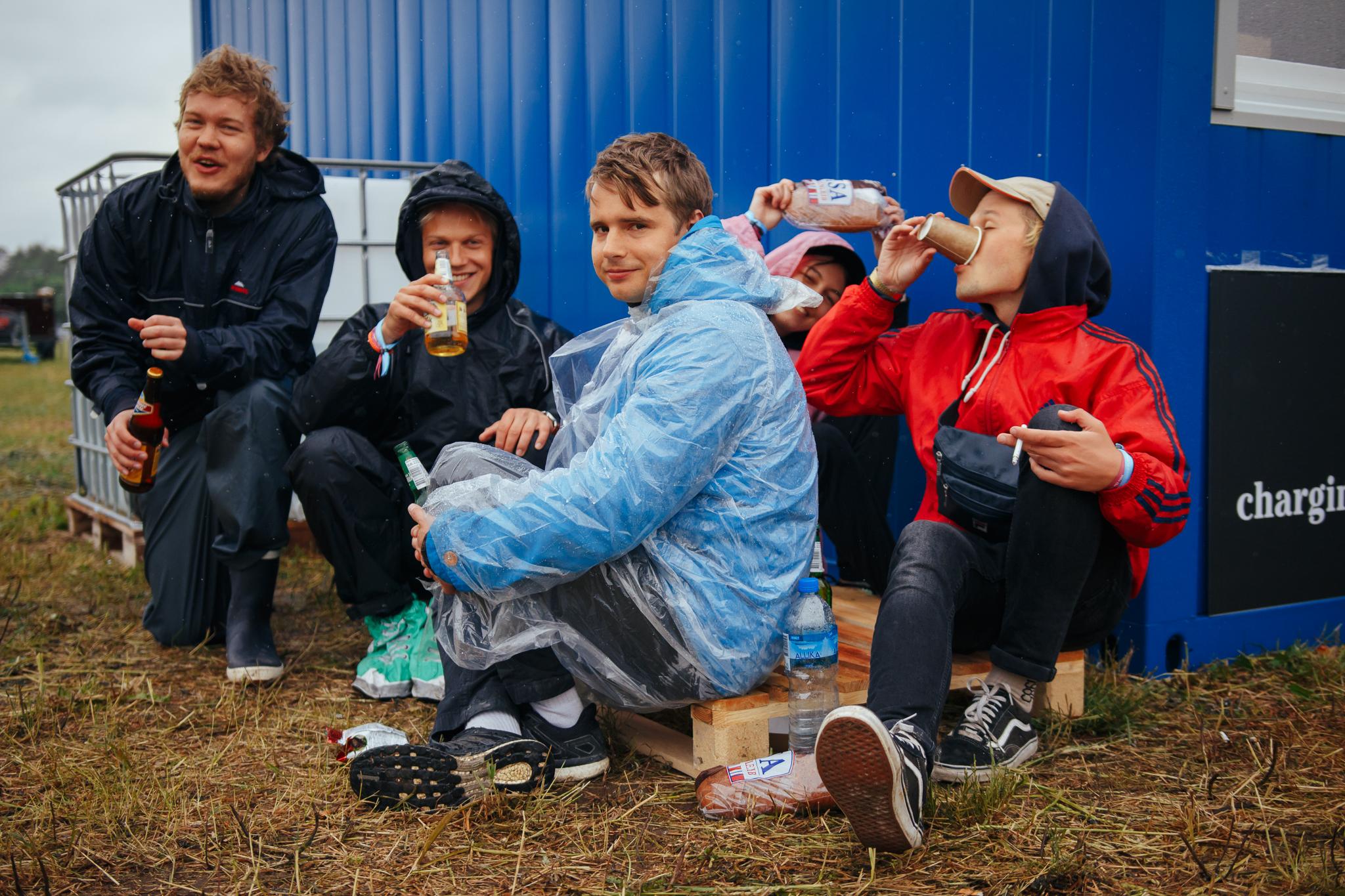 Konsta, Greete, Jaakko, Ilari ja Nikolai