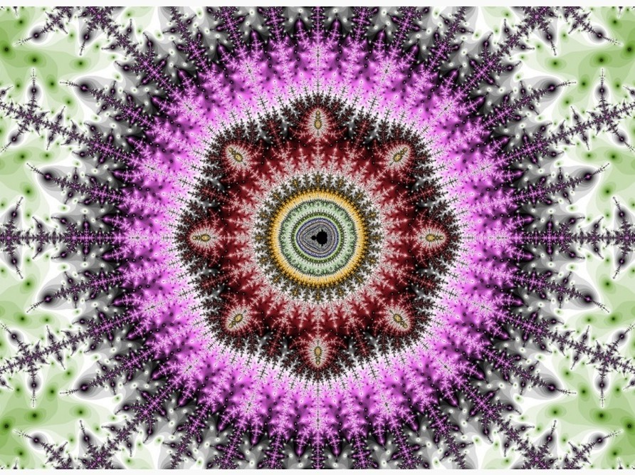 Isand Pea fraktaalkunst. Repro: arthappyeffect.weebly.com