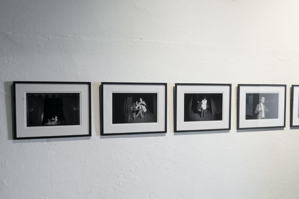 """Jaanus Samma """"ooper """"Esimees"""""""" Köler Prize 2013. nominentide näitusel. Foto: EKKM"""