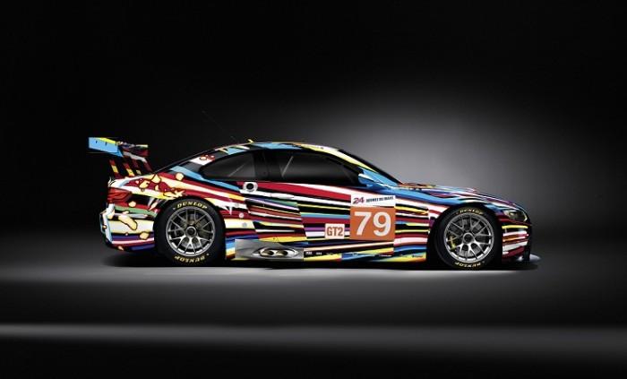 Jeff Koonsi kujundatud auto