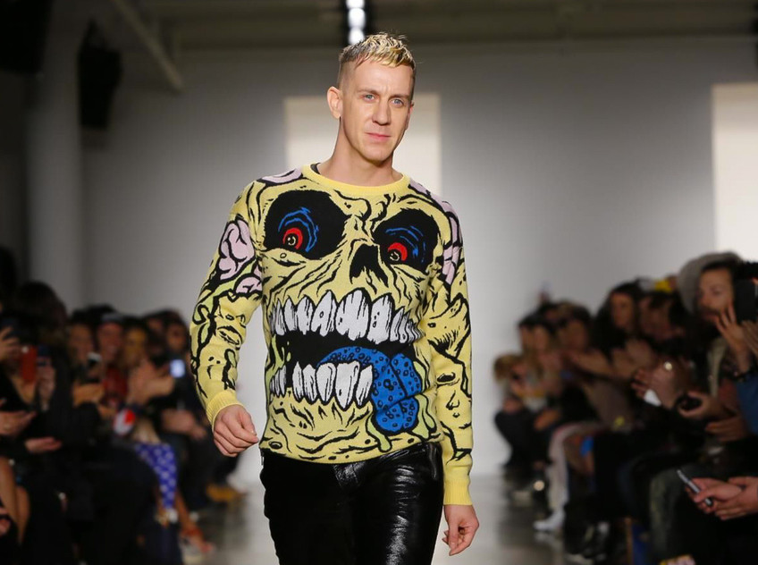 "Jeremy Scott 2014. aasta sügistalvise kollektsiooni ""Ready to Wear"" esitlusel New Yorgis. Foto: nowfashion.com"