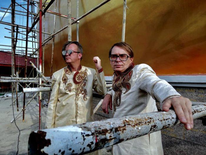 Jori Hulkkonen ja Jimi Tenor. Foto: press