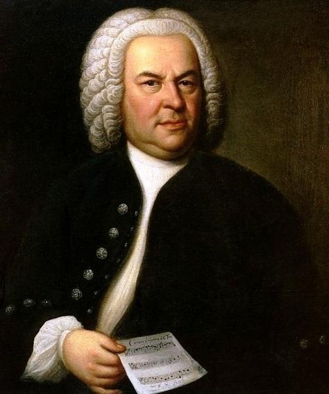 Johann Sebastian Bach. Portree: Elias Gottlob Haussmann. Allikas: Wikipedia