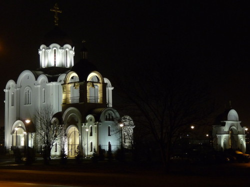 Jumalaema Kiirestikuulja Kirik Lasnamäel. Foto: Wikimedia Commonso kasutaja Dmitry G