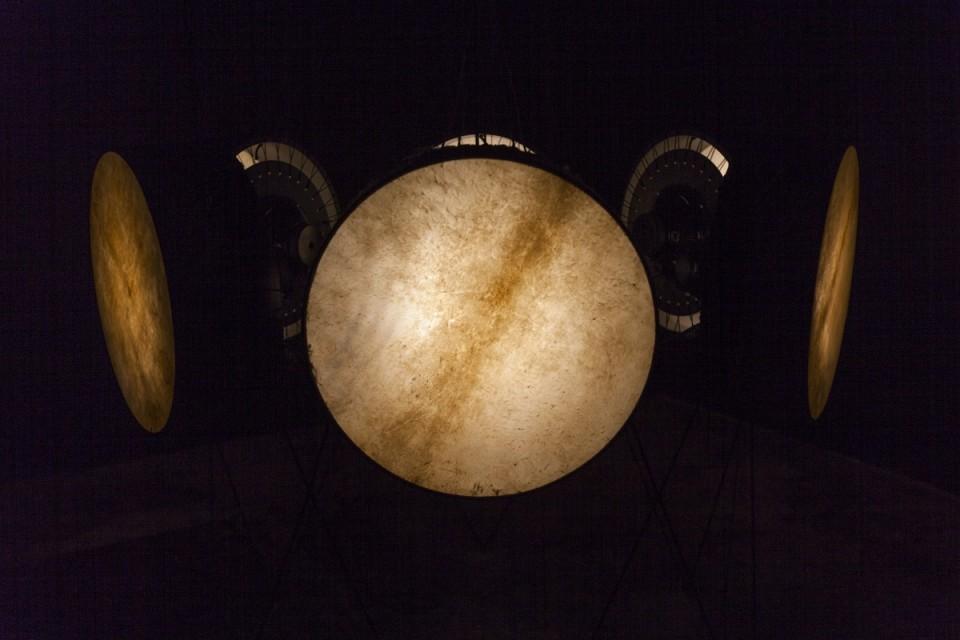 """Raul Keller  """"Kuus trummi"""" (2014). Foto: Kristiina Hansen"""