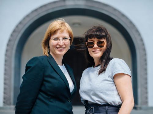Külliki Kübarsepp ja Heidy Purga.  Foto: Tõnu Tunnel