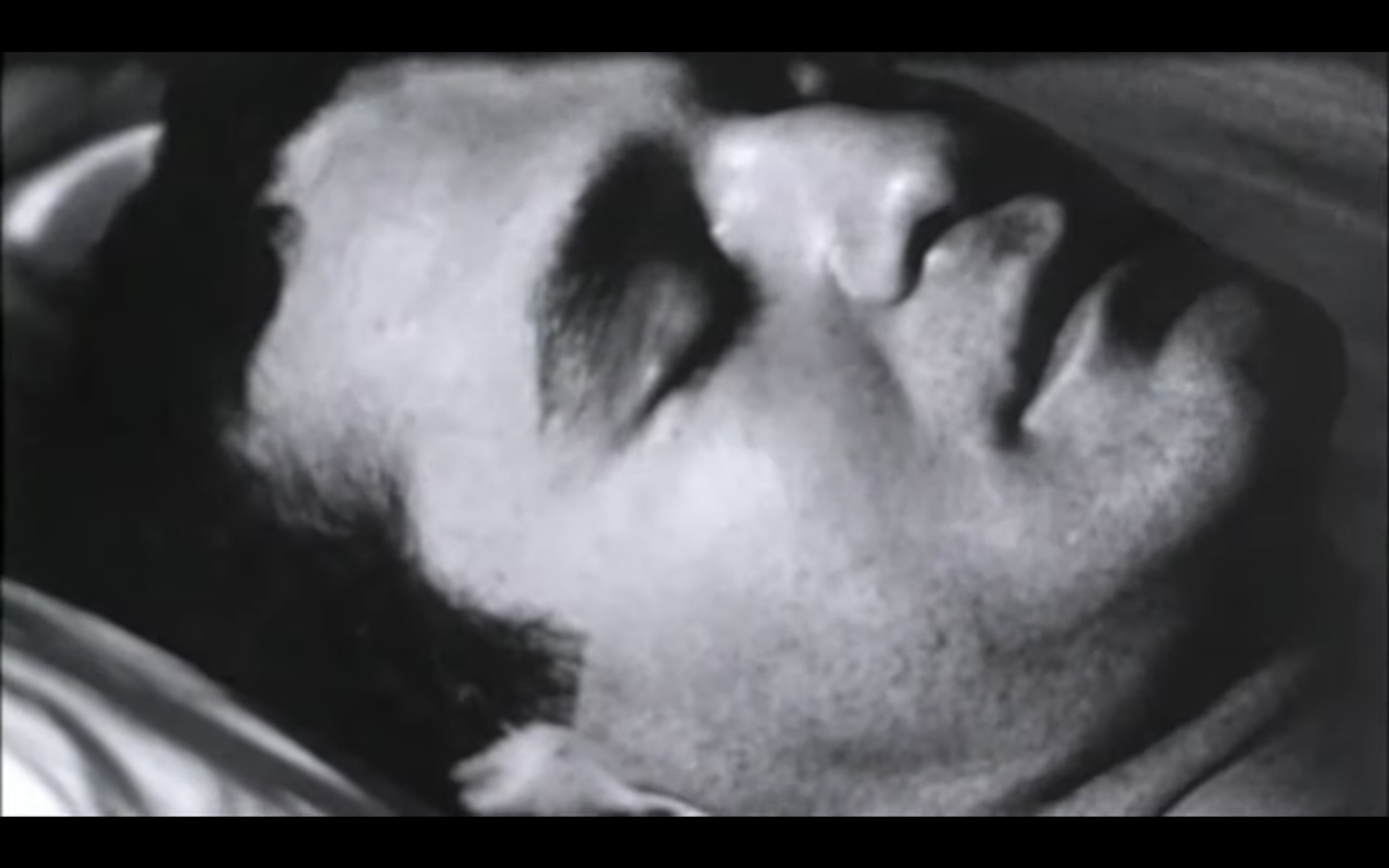 """Kaader Andy Warholi 1964. aasta filmist """"Sleep"""""""