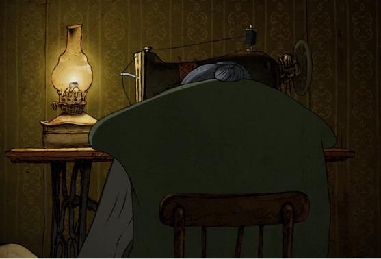 """Kaader Sandro Katamashvili animatsioonist """"Granny"""""""