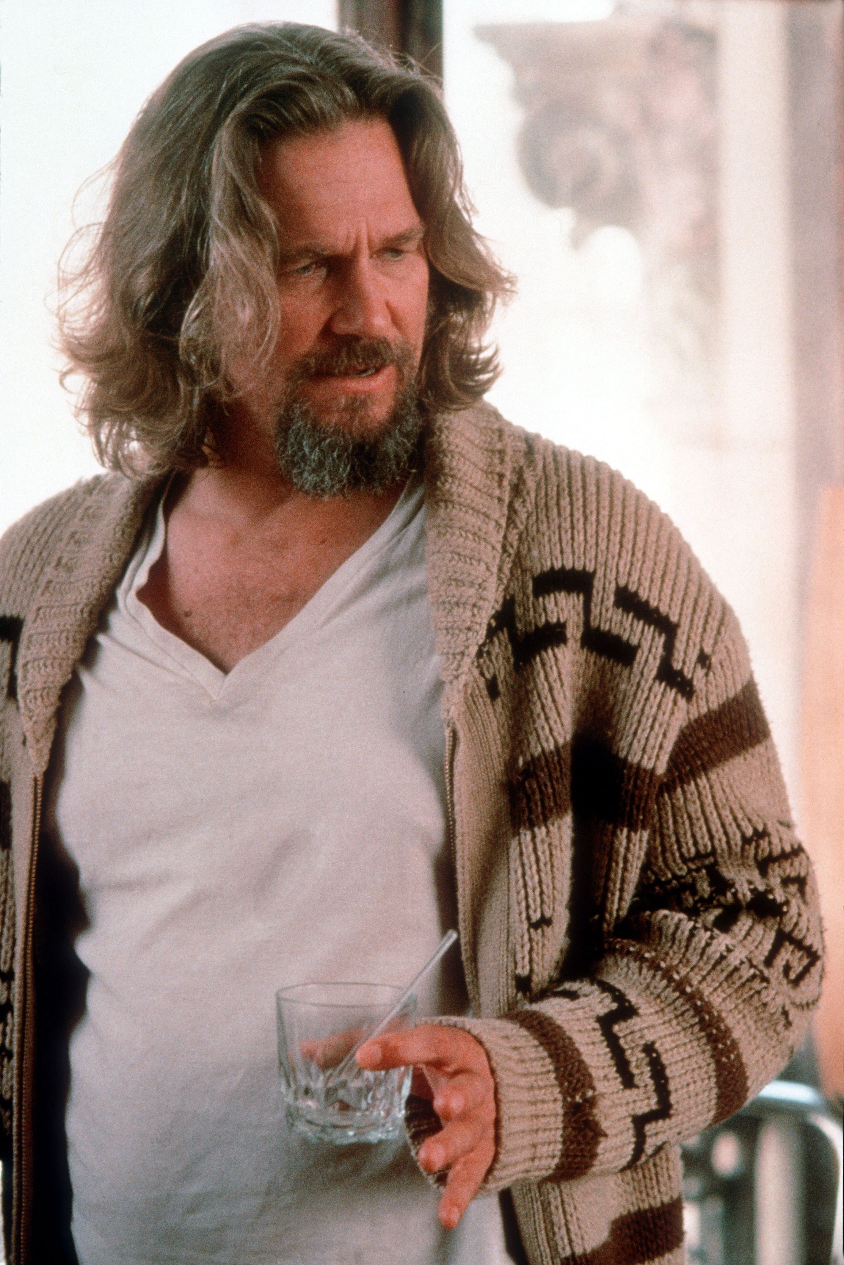 """Uue ajastu mees, kõigi hipide järglane, kõigi hipsterite varane eellane Jeffrey """"The Dude"""" Lebowski. Kaadrid filmist """"Suur Lebowski"""""""