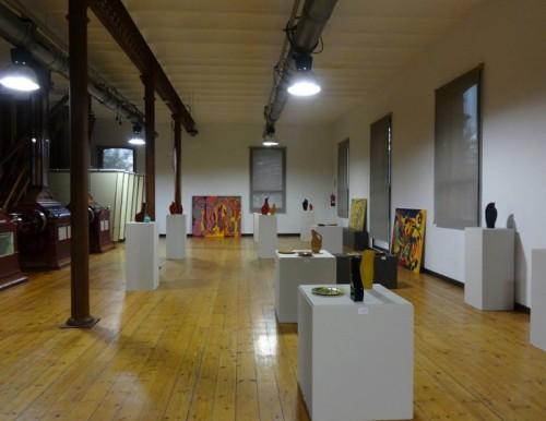 Vaade näitusesaalile. Foto: Andres Sütevaka