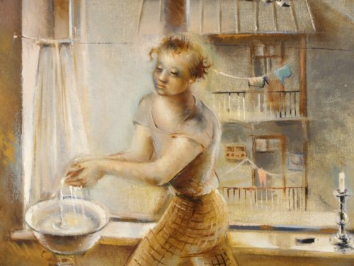 """Karin Luts """"Kunstnik"""", 1937. Foto: Eesti Kunstimuuseum"""