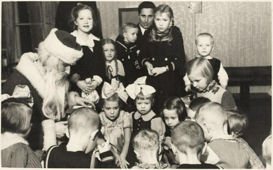 ERM Fk 2909: 343 Põllutööministeeriumi laste jõulupidu 1939. a. Fotograaf teadmata.