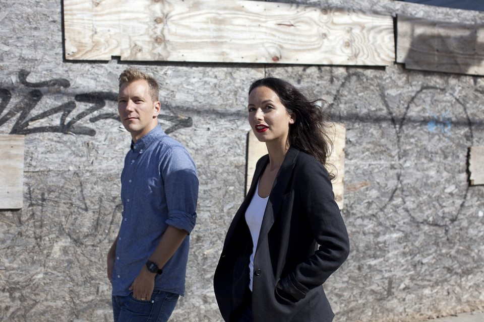 Kel Oneill and  Eline Jongsma. Photo by Terje Toomistu