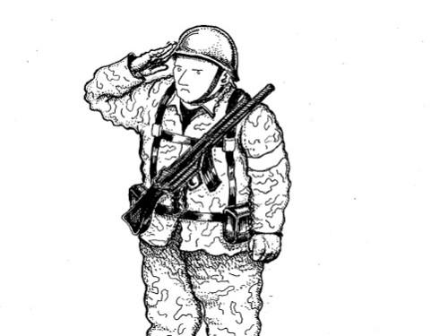 Karikatuur: Elise Tragel