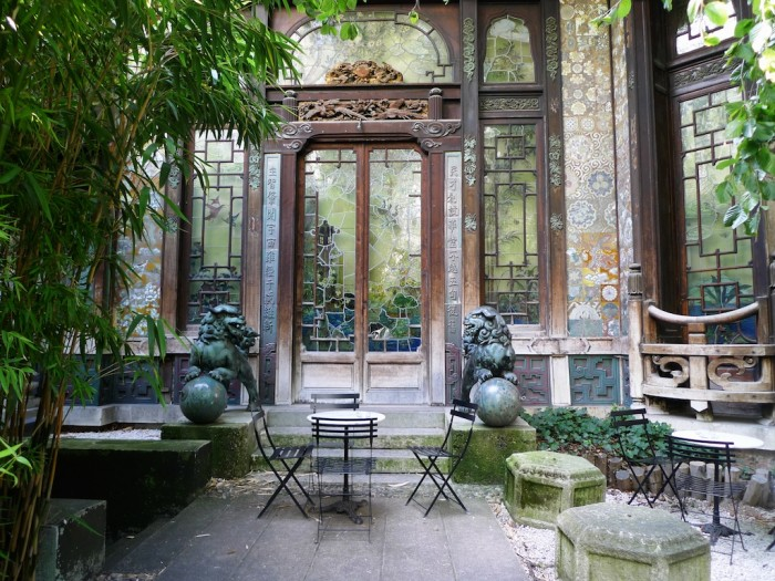 Filmioaas La Pagode ja seda ümbritsev lopsakas roheaed sisendavad igasse külastajasse hommikumaa rahu, zeni ja kino kõikvõimsuse tunnet. Foto: pressifoto