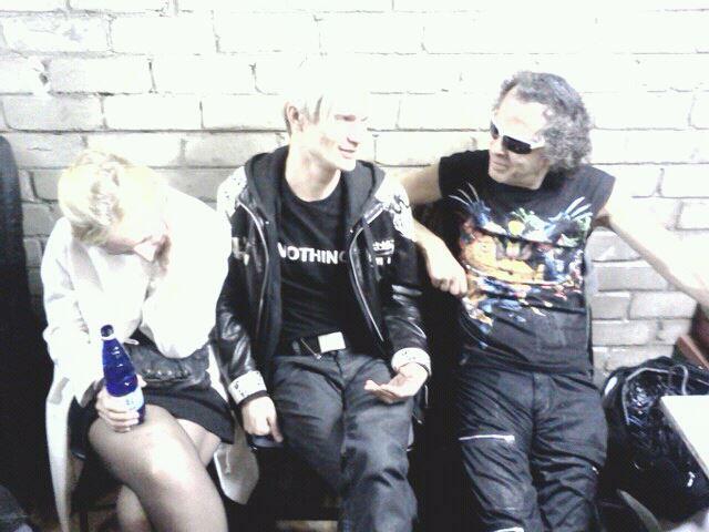 Kiwa ajab juttu esimest korda oma muusikat punkiks nimetanud ans. Suicide liikme Martin Reviga