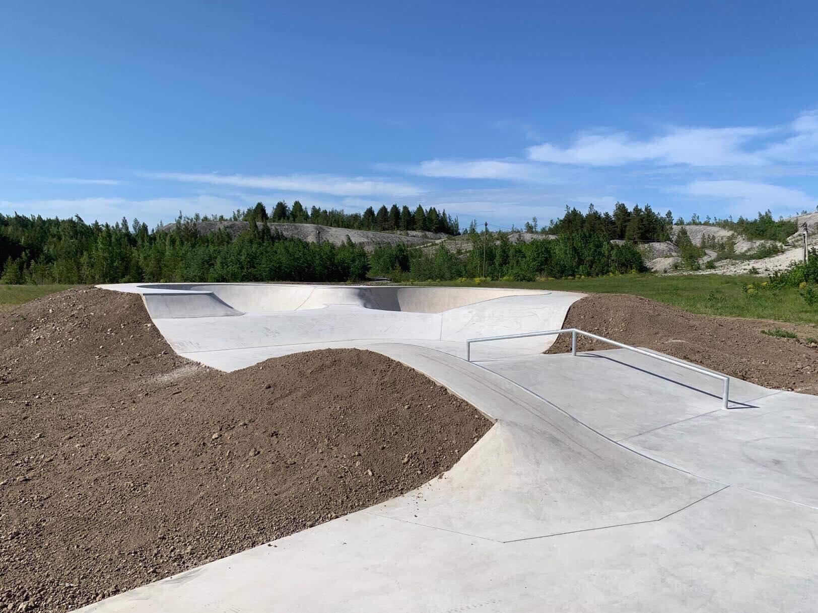 Kohtla-Nõmme skate-park. Foto: Rein-Erik Jõe