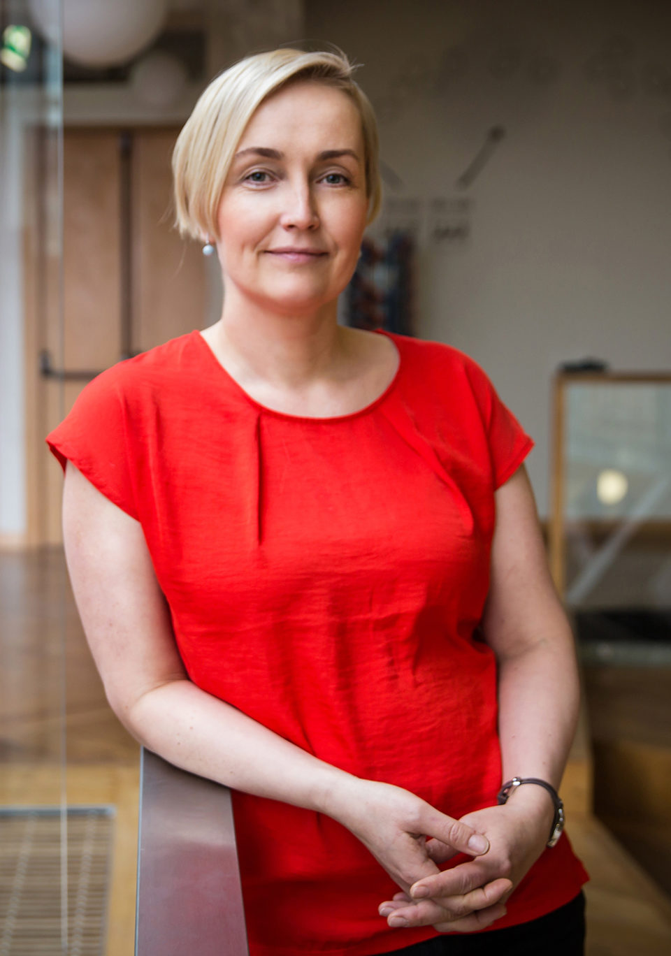 Kristina Kallas. Foto: Anna Markova