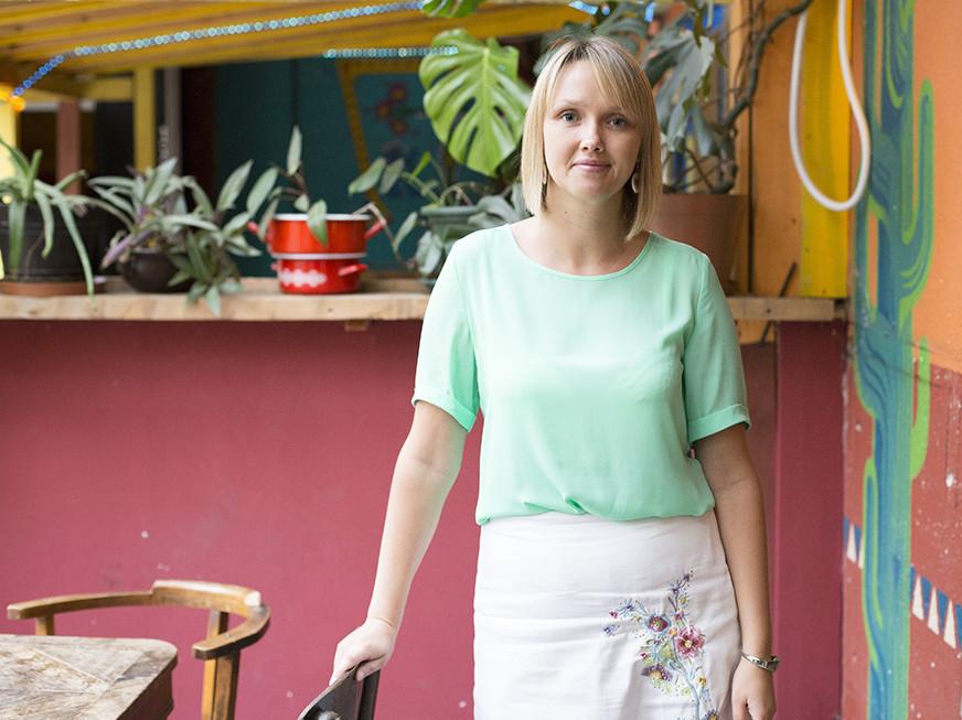 Helina Martin. Foto: Anna Viktória Pál