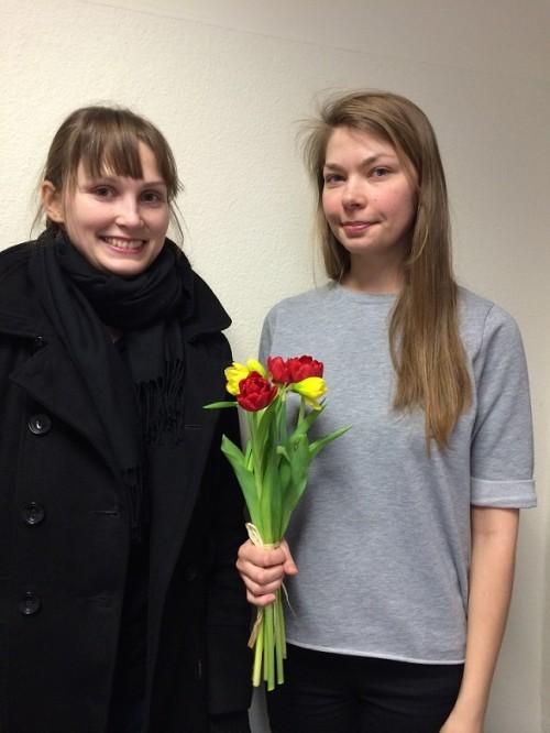 Kuraatorinäituse võitjad 2014 Kadri Klementi ja Karin Tõugu