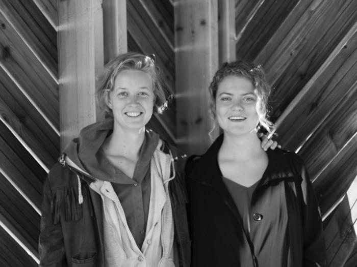 Lærke Grøntved (vasakul) ja Ann Mirjam Vaikla. Foto: Ingel Vaikla