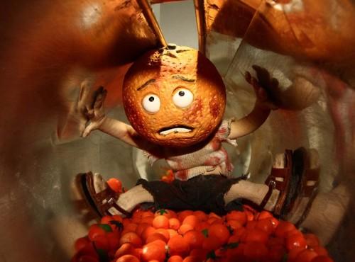 """Kaader animafilmist """"Lisa Limone ja Maroc Orange: tormakas armulugu"""""""