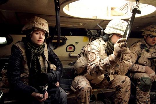 Leeni Linna Afganistanis. Foto: Blood Type
