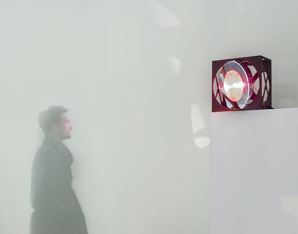 """Local Warming"" is a research project that dynamically controls highly localized heating: it is a system that puts the heat where the people are. More info http://senseable.mit.edu/local-warming/. Source: Carlo Ratti Associati"