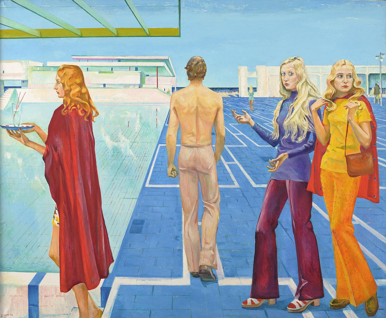 """Ludmilla Siim """"Rand"""", 1972. Foto: Tartu Ülikooli Kunstimuuseum"""