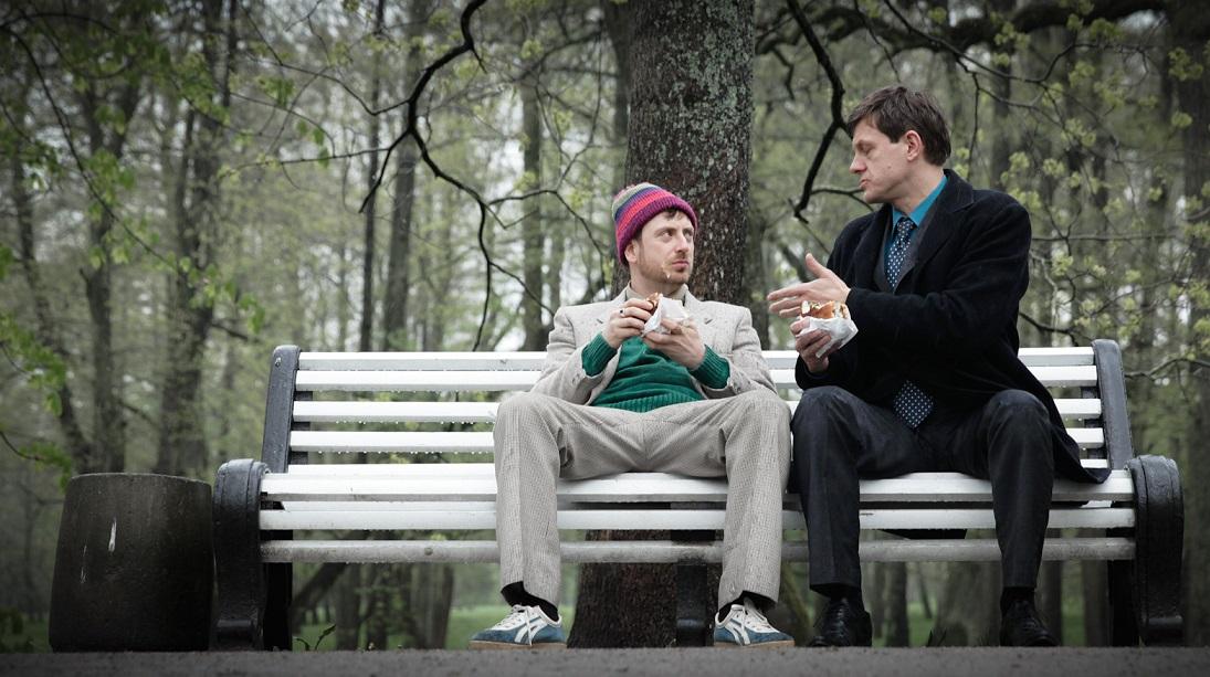 """Rain Tolk ja Jan Uuspõld filmis """"Luuraja ja luuletaja"""""""