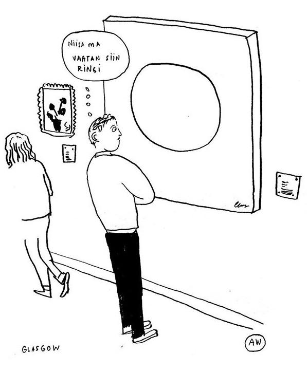 Müürilehe konverentsil üritame leida vastuse küsimusele, kas kultuur on igav või mitte? Illustratsioon: Liisa Kruusmägi/Janno Pikkat, AW stuff