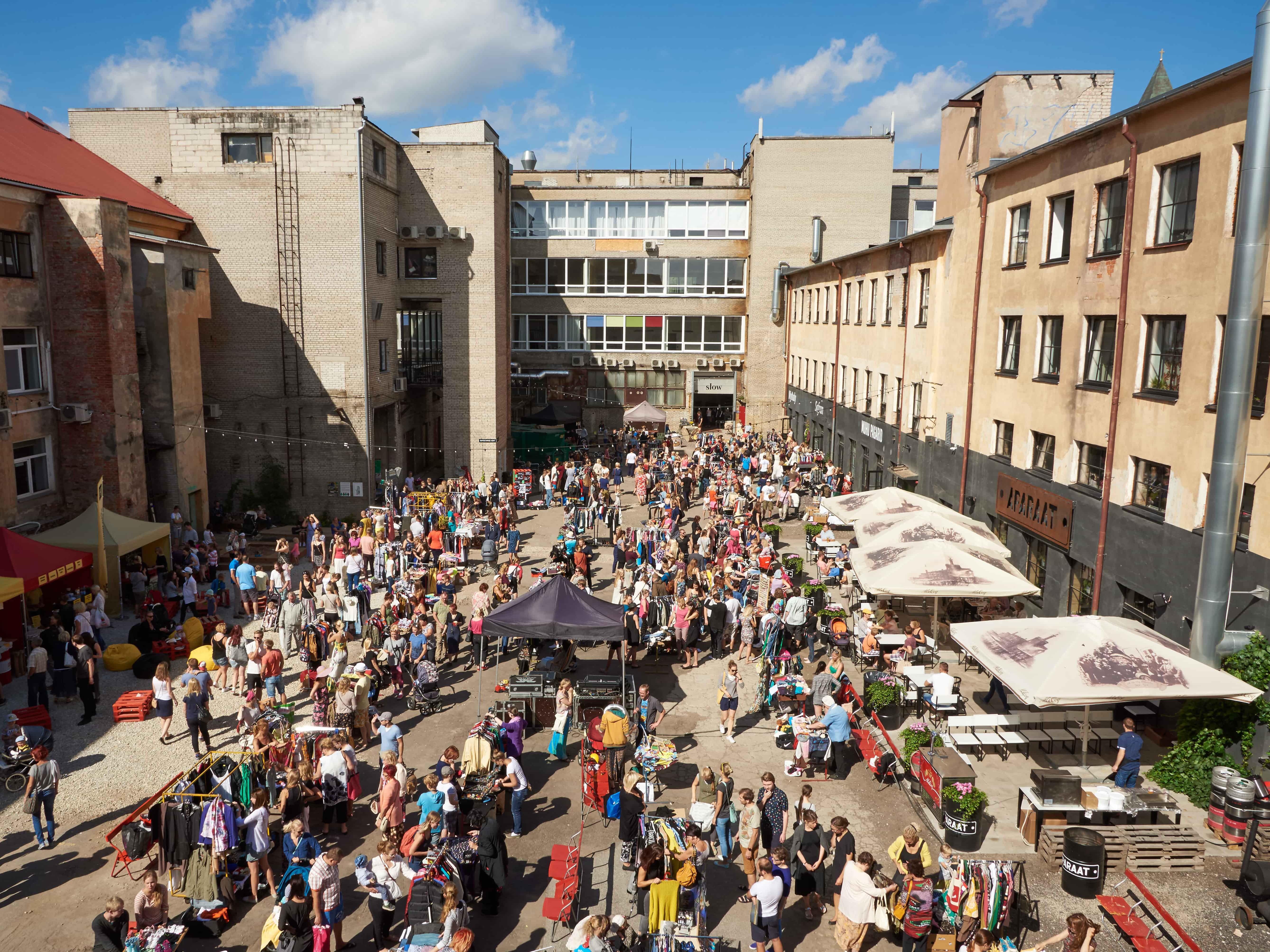 Aparaaditehase festival mullu. Foto: Rasmus Põld